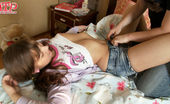 Just Teens Porn Fuck With Brunette Brunette Teen With Shaved Pussy And Asshole Sucks Cock And Gets Fucked Hard On The Bed.