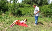 Anal Petite Theresa Cute Redhead Teenager Fucked Up The Ass By Horny Old Guy