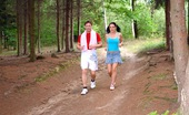 Anal Petite Tina Gabriel Fucking A Really Cute Jogging Teenager Anally In The Forest