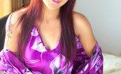 88 Square Iko Yeung Iko Peels Off Her Purple Oriental Night Gown