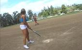 Big Juicy Juggs Charisma Cappelli & Mario Cassini Busty Charisma Plays Slutty Softball