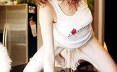 Lusted Redhead Teen Knockout