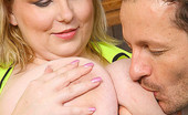 Divine Breasts BBW Blonde Fucking Younger Guy