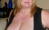 Divine Breasts Blond BBW With Tons Of Tit