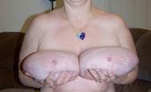 Divine Breasts Valerie Granny Huge Boobs