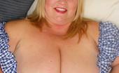 Divine Breasts Huge Cleavage Blond
