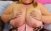 Divine Breasts Kelly BBW Dildo Tit Fuck