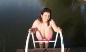 Divine Breasts Alicia BBW Big Tits Bikini