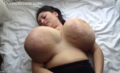 Divine Breasts Alice 85JJ Big Tits Jiggle Show