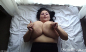 Divine Breasts Alice 85JJ Big Tits Jiggle Show 3