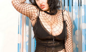 Divine Breasts Molly PAWG Fishnet Top
