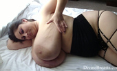 Divine Breasts Alice 85JJ Big Tits Jiggle Show 3