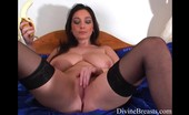 Divine Breasts Michelle Busty Pussy Play