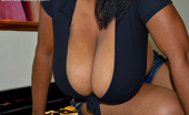 Divine Breasts Kristina Milan Big Black Tits