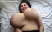 Divine Breasts Alice 85JJ Big Tits Jiggle Show 2