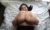 Divine Breasts Alice 85JJ Big Tits Jiggle Show