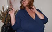 Divine Breasts Cassandra Plumper BBW Secretary