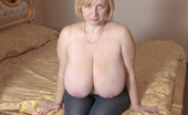Divine Breasts Ginger In Bed Big Boobs