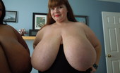 Divine Breasts Lexxxi And Cotton BBW Bedroom Play