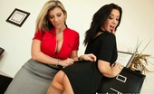 Jayden James.com Busty Office Sluts Busty Jayden Jaymes Has To Please Her Very Busty Boss Sara Jay In A Big Boobed Lovers Dream