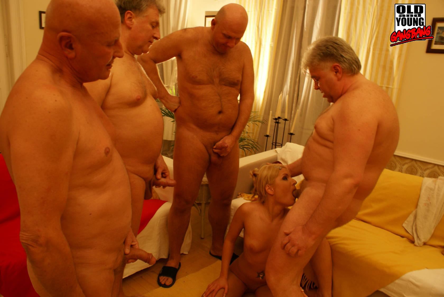 men gang Old porn gay