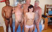 Old And Young Gangbang Four Older Men Who Get Inside Poor Little Bettina