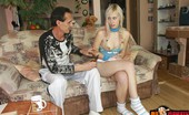 Old Perverts Barta & Teena Retired Old Man Fucks A Maid Pretty Nubile Maid Is So Hungry For Sex Even Getting Fucked By A Much Older Man Seems Like A Great Idea, Especially With A Big Firm Cock