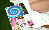 Pin-Up Wow A Strange Image In A Magazine Makes Secretary Remove Her Clothes In Public.