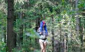 Pee Hunters Skinny Emo Girl With A Hairy Beaver Tinkles Alfresco