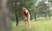Pee Hunters Little Pig-Tailed Hoochie Tinkling On Forest Glade
