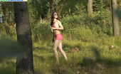 Pee Hunters Naughty Smoking Girl Takes A Leak In The Woods