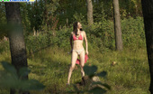 Pee Hunters Young Nude Babe Pissing With A Cig In Her Hand