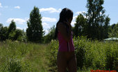 Pee Hunters Beautiful Naked Teen Peeing Outdoor