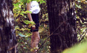 Pee Hunters Spying On Teen Peeing In The Forest