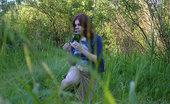 Pee Hunters Spying On Peeing Redhair Chubby Teen