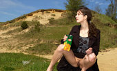 Pee Hunters Spying On Beautiful Teen Peeing On The River Beach