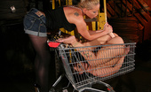 Mighty Mistress Kathia Nobili Bound To A Shopping Cart And Left All Alone At A Construction Yard Zyna Baby Thought Nothing Could Get Worse Until Kathia Nobili Arrives Introduces Her To Her Fate.\R\NZyna Gets Hogtied And Kathia Plays All Kinds Of Cruel Games On Her Until She Breaks Res