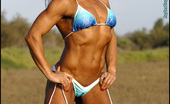 Muscularity Deidre Pagnanelli Muscles Close Ups I Visited Deidre In Southern California For This Shoot. We Drove Around For A While And Found This Swamp To Shoot In. In This Set, She Is Wearing A Blue Bikini, And I Got A Load Of Awesome Close-Up Captures Of Her Amazing Muscles.