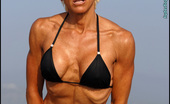 Muscularity Christine Le Monde Ripped And Beautiful Christine Is One Of The Most Beautiful 50 Year Olds In The World, She Just Started Competing In NPC Bikini Competitions In Mid 2011 And Is Moving Up To Figure Now. This Is Her First Professional Photo Shoot, And She Gets Erotically To
