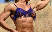 Muscularity Emery Miller Purple Hot Fields One Of The All Time Great Pro Bodybuilders, Emery Miller, Shot Four Outside Erotic Sets With Me. She Has Abs For Days, And A Body Like A Greek God, But Female Version. In This First Of Four Sets, She Wears A Purple Fringe, Two Piece Outf