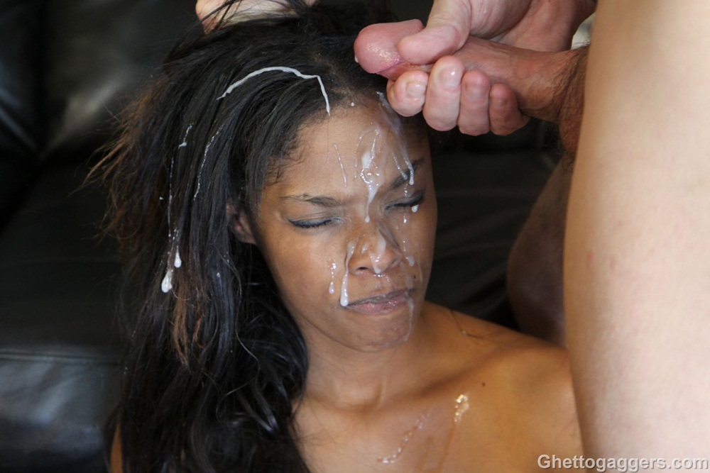 Something Clip ebony facial gagger ghetto