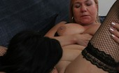 Hot 50 Plus Linette & Venus 419597 Sexy Older Mature Women Give Each Other Oral Pleasure!