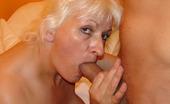 Hot 50 Plus Maria Big Tit Granny Fucks A Stud