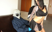Hottie Hollie Alien Taken 419854 Hottie Hollie Is Fooled On Halloween And Taken By A Real Alien Who She Fucks And Gets A Huge Slimy Aqua Cumshot From