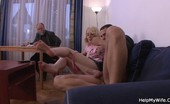 Help My Wife Blonde Wife Cuckolds Husband Bitchy Blonde Wife Cuckolds Her Older Husband Who Paid To Have Her Fucked