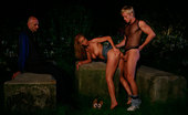 Help My Wife Glam Wife In Outdoor Cucking Glamorous Blonde Wife Cuckolds Her Husband Outdoors With A Handsome Stud