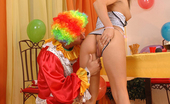 Hands on Hardcore Trisha & Nick Lang Cute Teen Trisha Is Getting Fucked By A Clown On Her B-Day