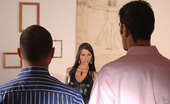 Hands on Hardcore Simony Sexy Brunette Babe Simony Enjoys Some All Orifice DP Action