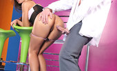 Hands on Hardcore Jane F Brunette Jane F. Has Hardcore Sex With David Who Cums Her
