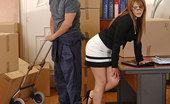 Hands on Hardcore Hanna Montada Hot Office Babe Hanna Montada Gets Fucked Hardcore By Mover